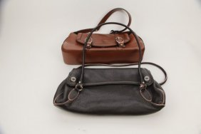 Pair Of Cole Haan Purses