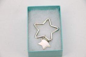 Tiffany& Co. Sterling Silver Star Pendant