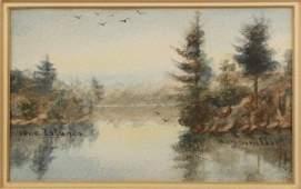 H. M. SINCLAIR - WATERCOLOUR