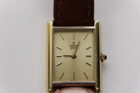 """Ladies 14k Yellow Gold """"concord"""" Watch"""