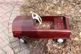 VINTAGE MURRAY TOY PEDAL CAR IN WORKING ORDER