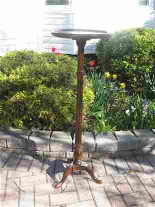 SOLID CHERRY GIBBARD CANDLE STAND