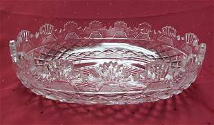 WATERFORD RARE VINTAGE KENNEDY BOWL -LIMITED ED. OF 100