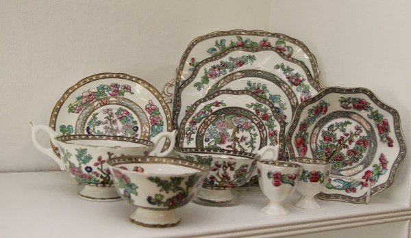 "COALPORT ""INDIAN TREE"" PARTIAL DINNER SERVICE"