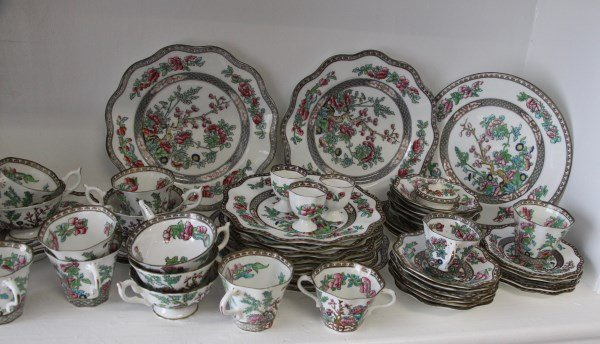 "COALPORT ""INDIAN TREE"" PARTIAL DINNER SERVICE - 3"