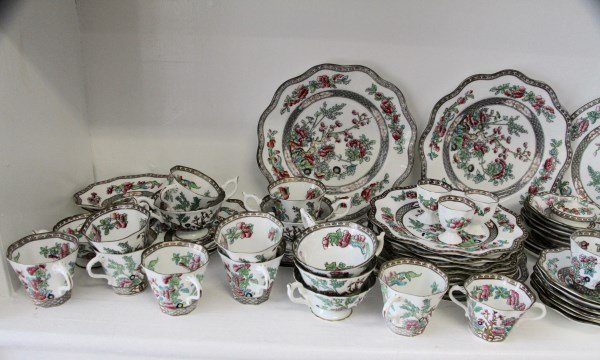 "COALPORT ""INDIAN TREE"" PARTIAL DINNER SERVICE - 4"