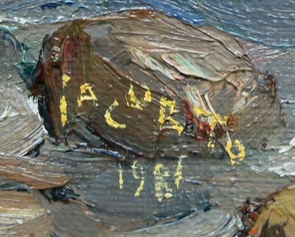 FRANCESCO IACURTO R.C.A. - OIL ON CANVAS - 2