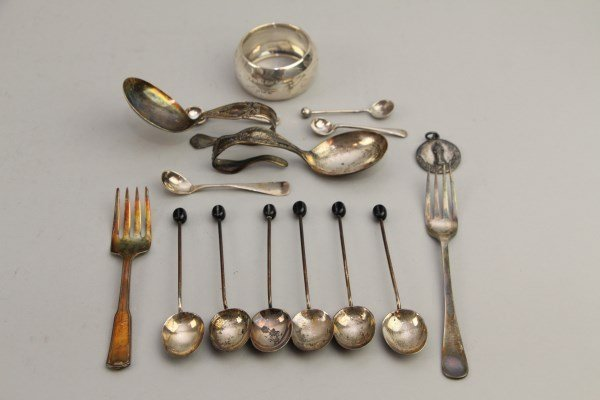 ASSORTMENT OF STERLING