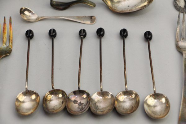 ASSORTMENT OF STERLING - 3