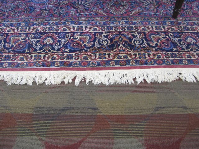 VINTAGE PERSIAN KERMAN CARPET - 6