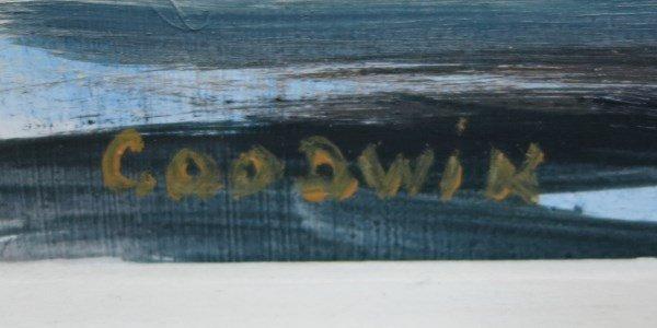 B. GOODWIN - OIL ON BOARD - 2