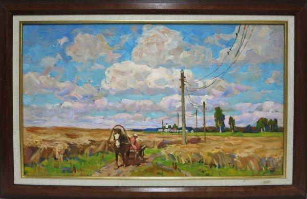 GEORGI KOKLIOUCHKINE - OIL ON CANVAS