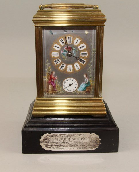 SUPERIOR QUALITY FRENCH REPEATER CARRIAGE CLOCK