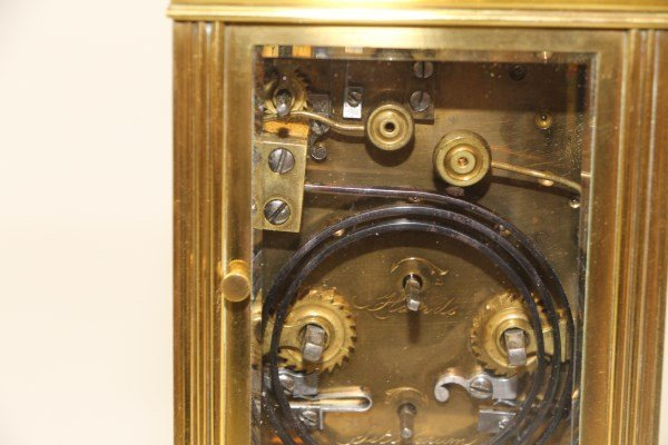 SUPERIOR QUALITY FRENCH REPEATER CARRIAGE CLOCK - 4