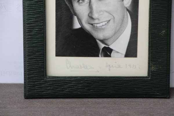 SIGNED PHOTO OF CHARLES PRINCE OF WALES - 2