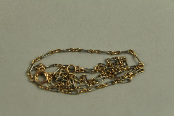 15K GOLD TWO TONE CHAIN