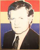 """EDWARD KENNEDY"" BY ANDY WARHOL (DELUXE EDITION"