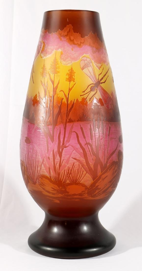Galle Dragonfly Vase - 4