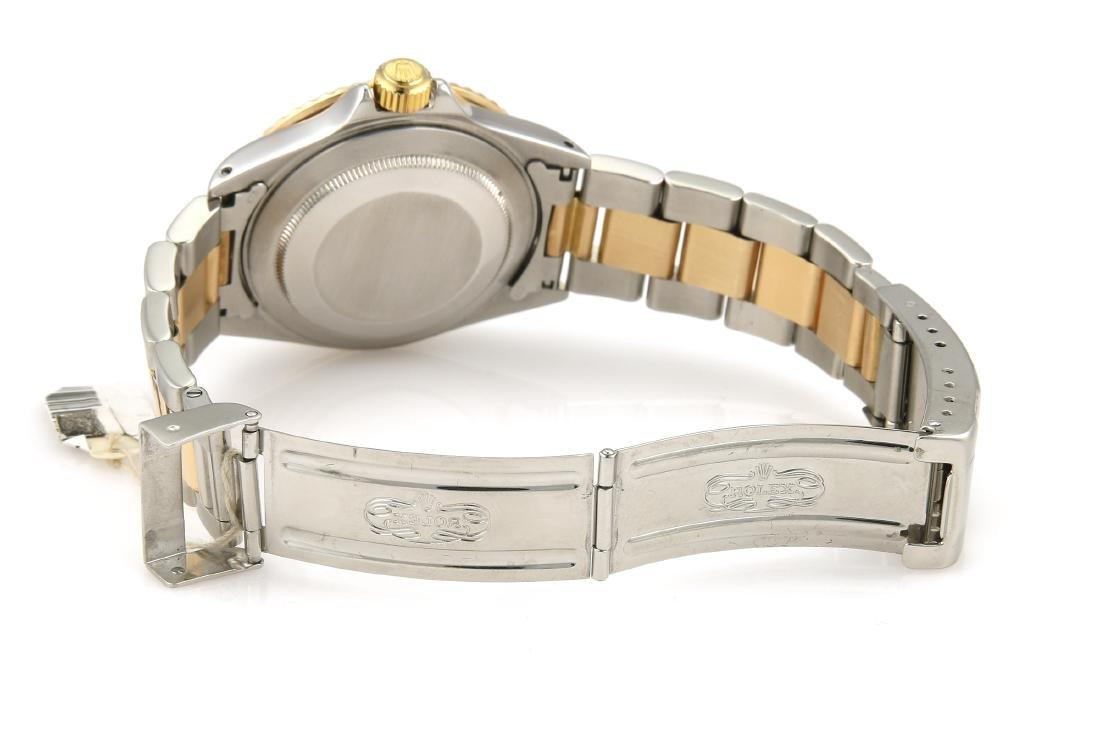 Rolex Submariner Two Tone Blue Watch - 3