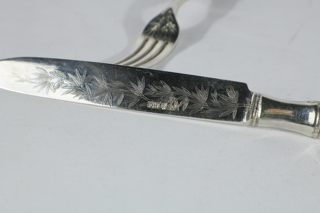 Chinese Silver Flatware C. 1880-1910 - 2