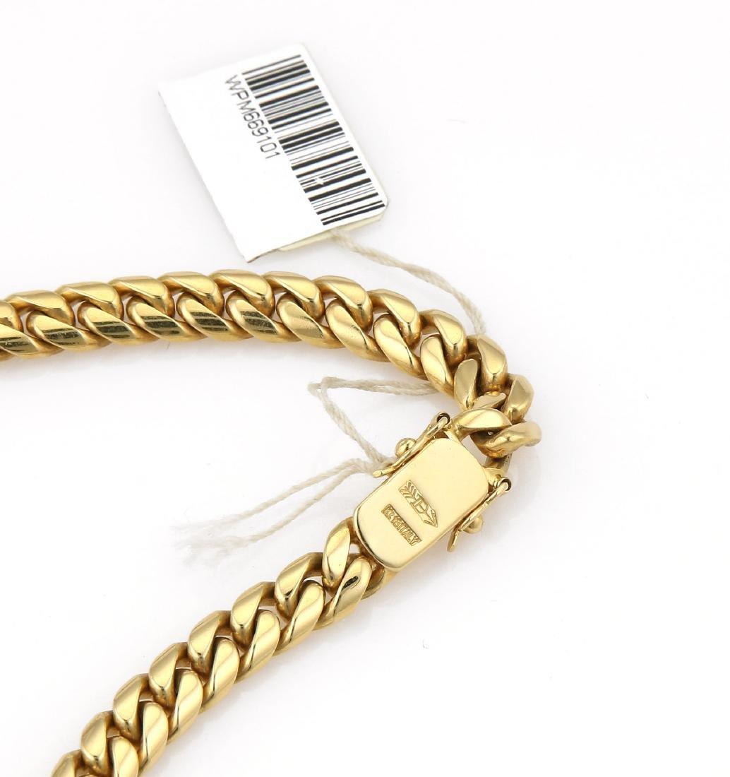 18K YG Greg Drake Citrine Diamond Necklace - 4