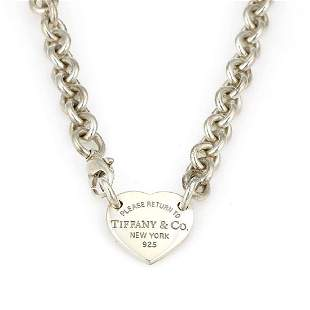 T&Co Return to Tiffany New York Sterling Silver Heart