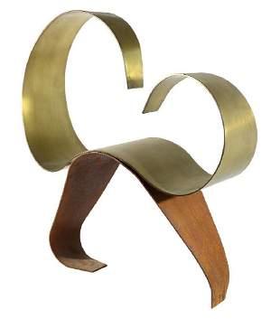 Lila Katzen C. 1976  Bronze Sculpture