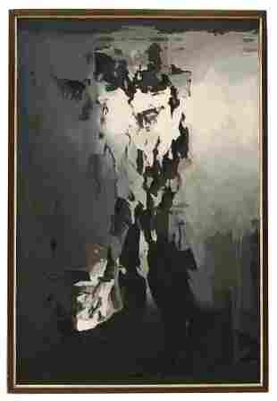 Balcomb Greene (1904-1990) Abstract Oil on Canvas