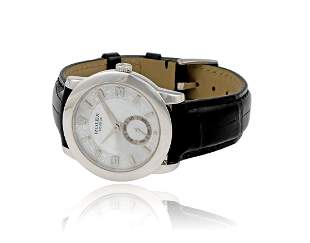 Platinum Rolex Cellini 5240 with Mother of Pearl Dial