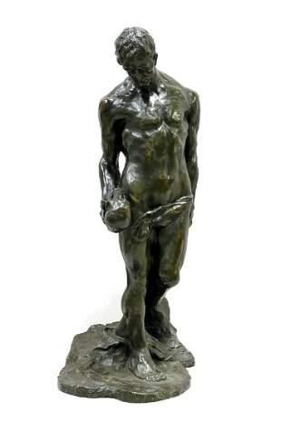 Alfredo Pina (Italian, 1883–1966) Man Holding Skull