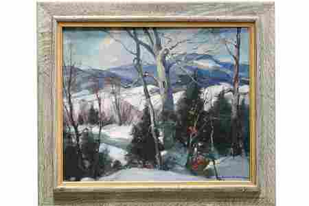Emile Albert Gruppe (1896�1978) Winter in Vermont