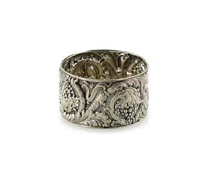 Tiffany & Co Makers Silver Cup with Grapevine Motif