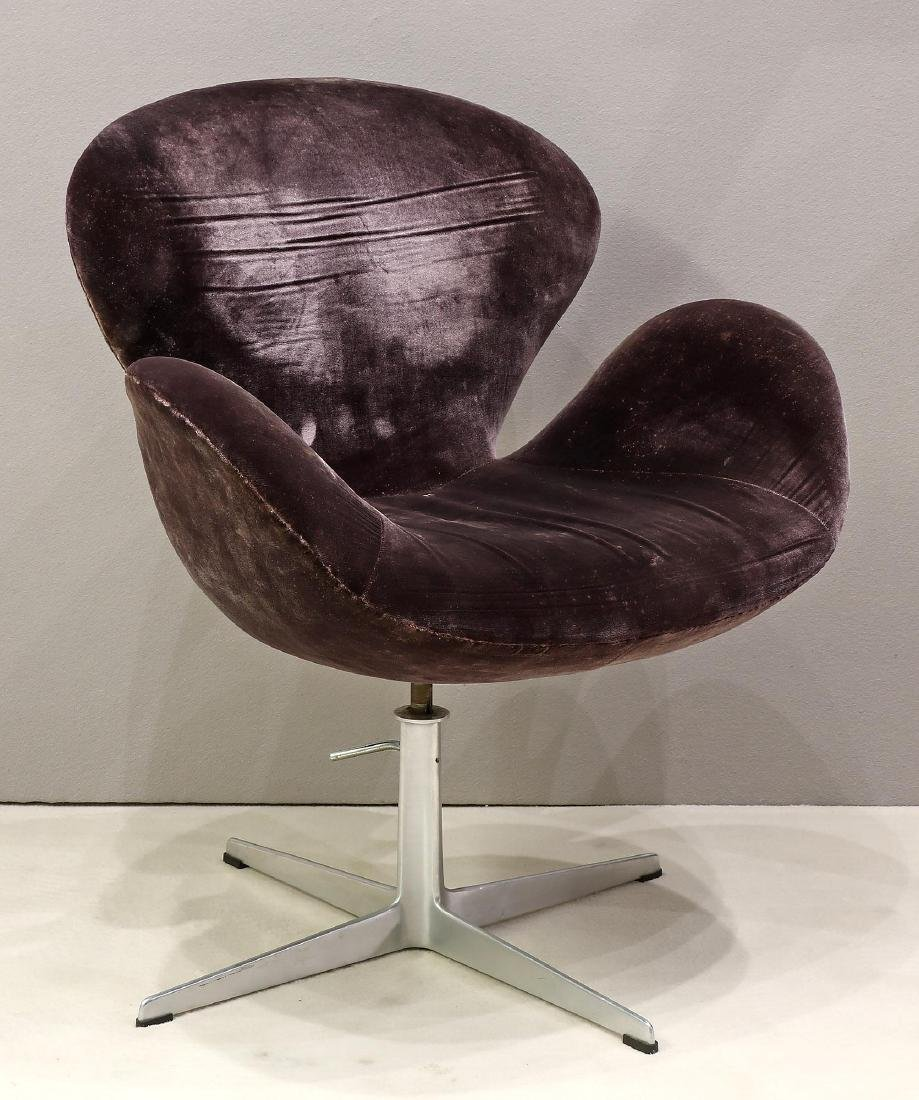 Marvelous Fritz Hansen Purple Swan Lounge Chair Ocoug Best Dining Table And Chair Ideas Images Ocougorg