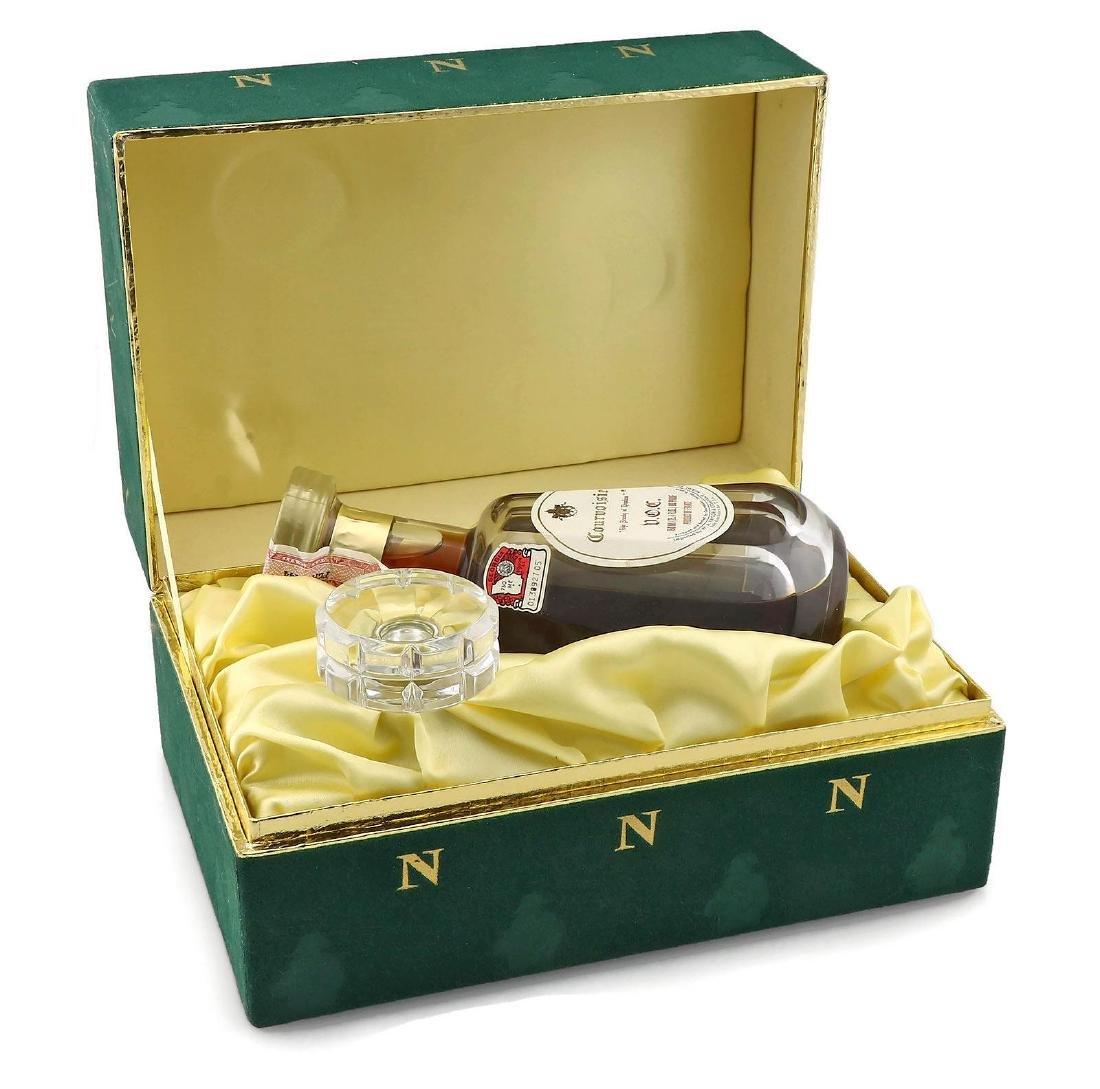 Courvoisier Napoleon Cognac in Baccarat Decanter