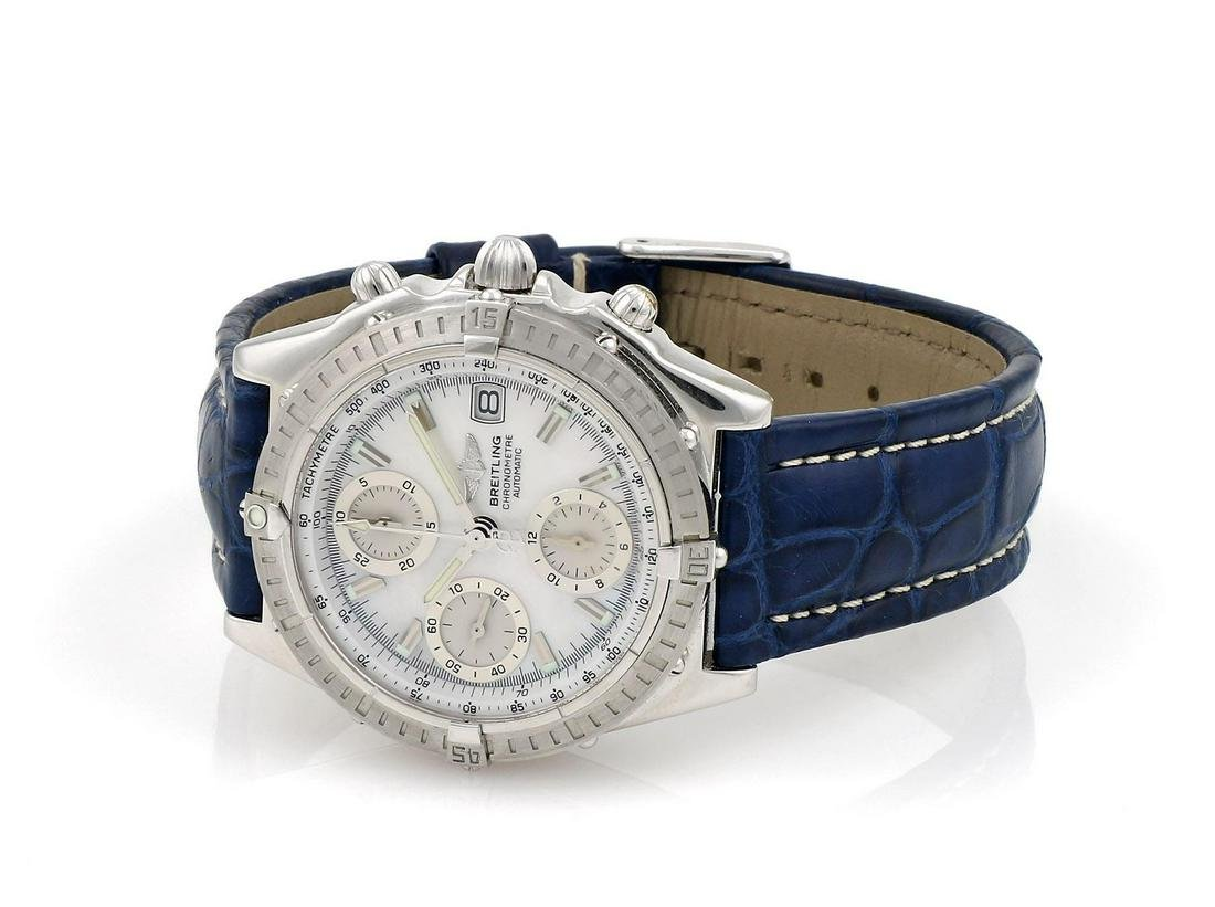 Breitling WG Chronomat with Mother of Pearl Dial J13352