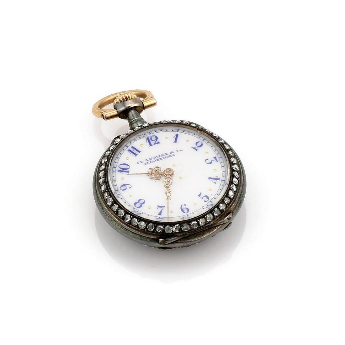 Vacheron Constantin J E Caldwell Enamel Pocket Watch