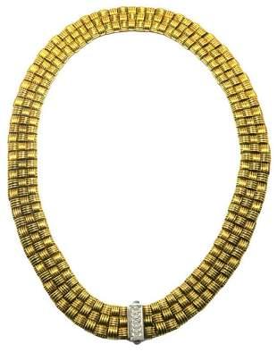"Roberto Coin ""Appassionata"" 18Kt & Diamond Collar"