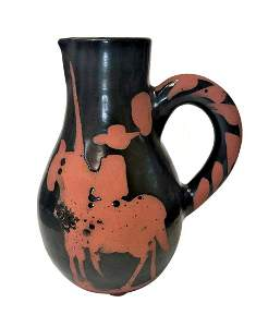 Pablo Picasso (Spanish, 1881-1973) Ceramic Picador
