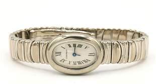 """Cartier 18Kt """"Baignoire"""" Quartz Watch"""