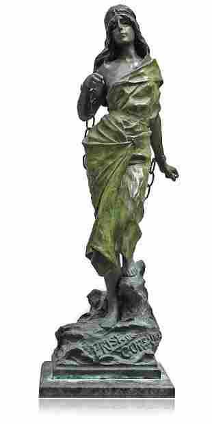 Emmanuel Villanis (French 1858-1914) Prise de Corsaire