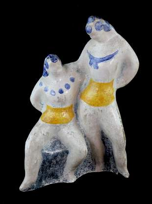 Elie Nadelman (1882–1946) Two Circus Women Sculpture