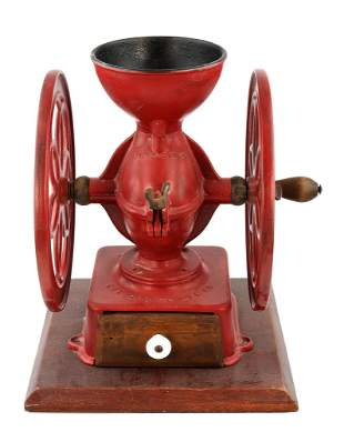 Antique Enterprise Manufacturing Co. Coffee Mill