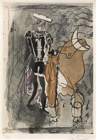 Georges Braque (French 1882-1963) Le Matador Litho