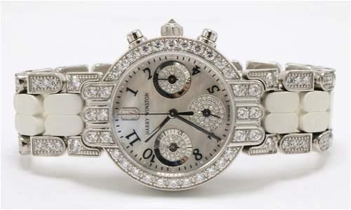 Harry Winston 18Kt Diamond Premier Watch
