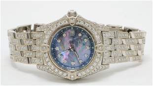 "Breitling ""Callistino"" 18Kt & Diamond Watch"