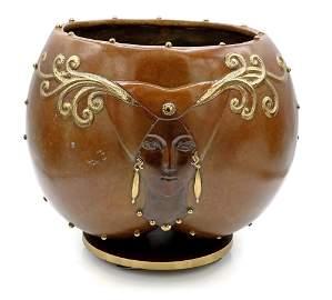 Erte Fruit of Life Bronze Bowl