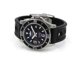 Breitling Super Ocean 44 A17391 Steel on Rubber Strap