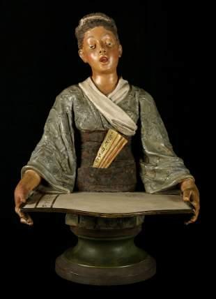 19th Century Mikado Playbill Holder from the Savoy