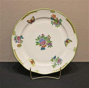 Herend Queen Victoria Scalloped Service Plate