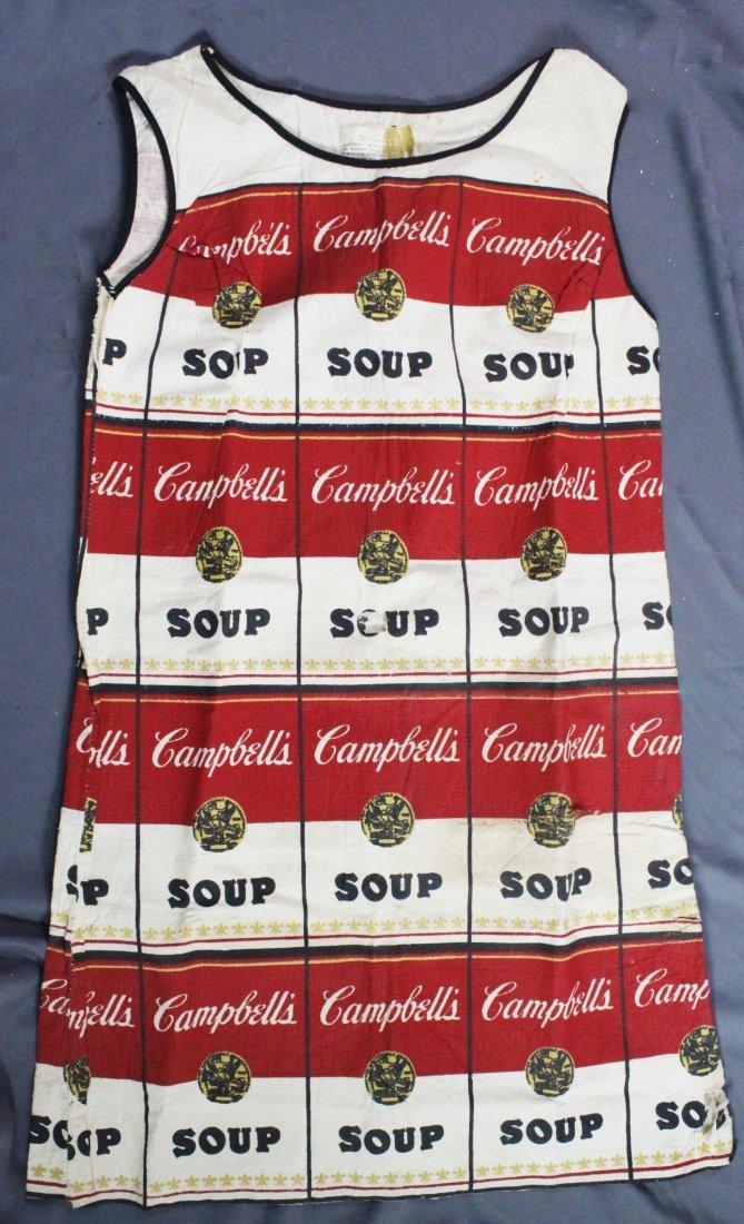 "Andy Warhol, ""Souper Dress"", c. 1968"